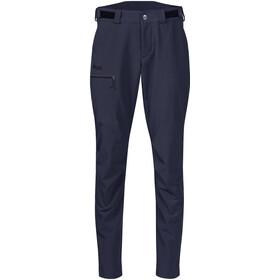 Bergans Slingsby LT Pantalones Softshell Mujer, dark navy/black